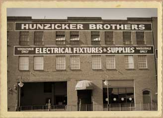 Walter W And Frederick L Hunzicker Founded Brothers In May Of 1920 The Very First For Company Was A Train Carload Light Bulbs